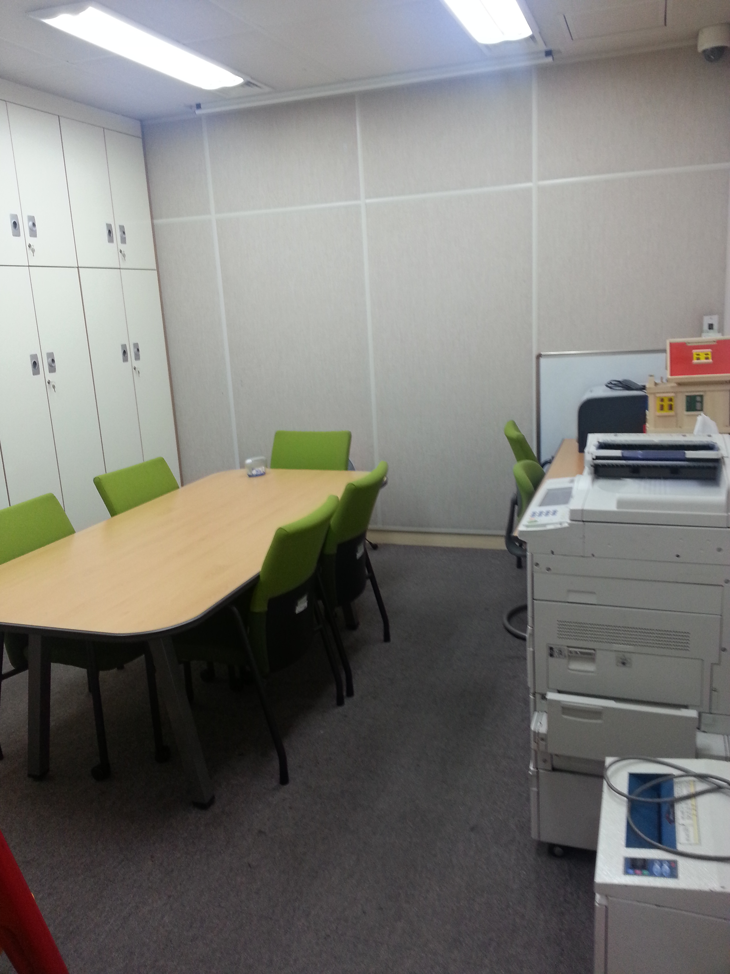 Honam University Clinic Student Room
