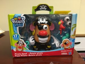 Photo of Potato Head Pirate in box