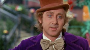 Photo of Willy Wonka from 1971 Movie